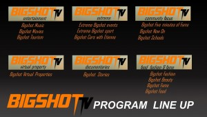 BIGSHOT TV line up