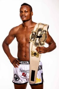 "Danyo ""Dibuba"" Ilunga (born January 31, 1987) is a Congolese-German Muay Thai kickboxer"