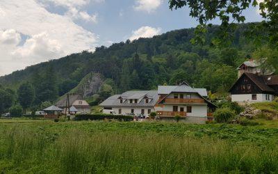 Ojcowski National Park in the village of Ojcow