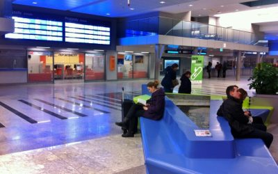 Krakow Train Station – Efficient, cost effective, clean and safe.